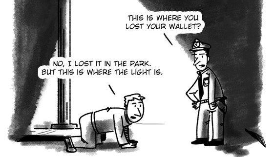 streetlight effect The Ethical Skeptic